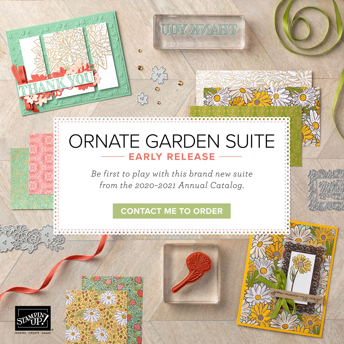 Ornate Garden Early Release