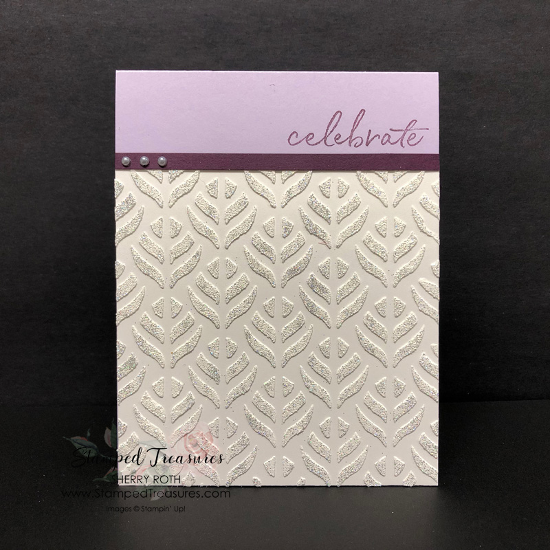 How to Emboss Embossing Paste