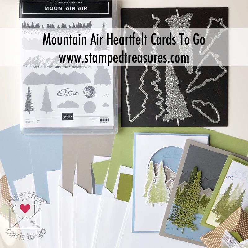 Mountain Air Card Class To Go