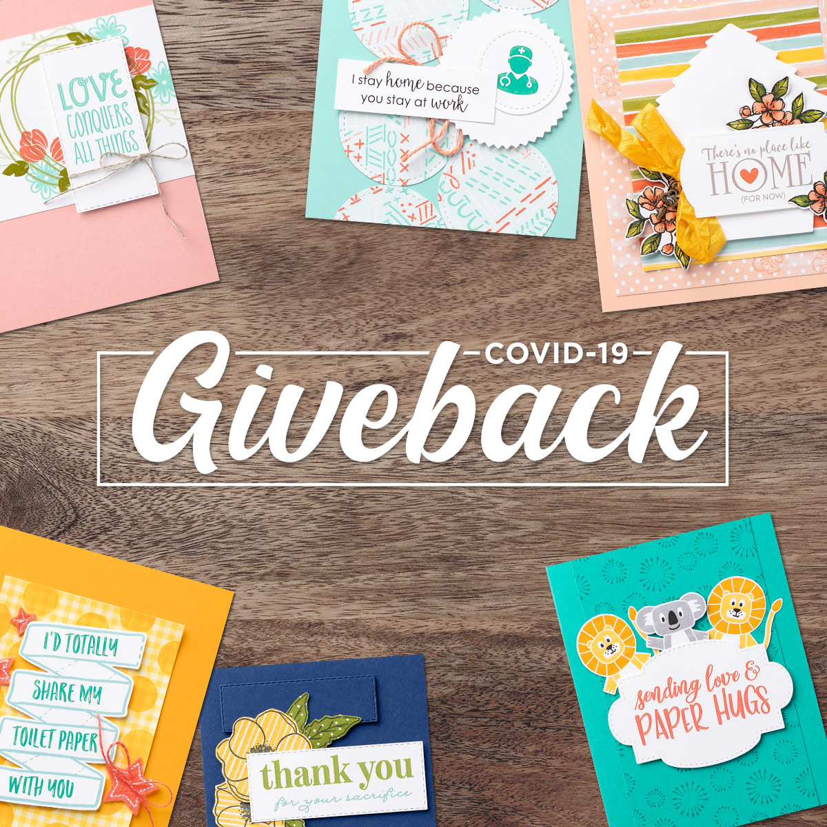 COVID-19 Product Giveback