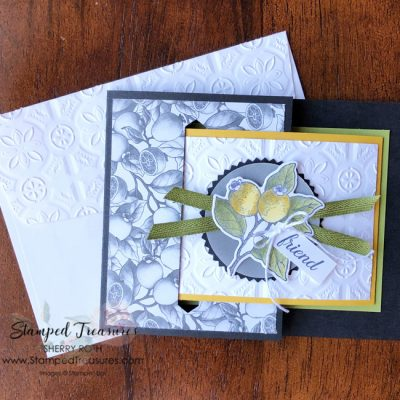How to Create a Buckle Fold Card