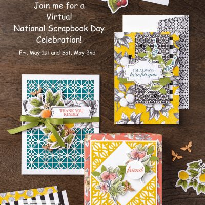 Virtual National Scrapbook Day Celebration