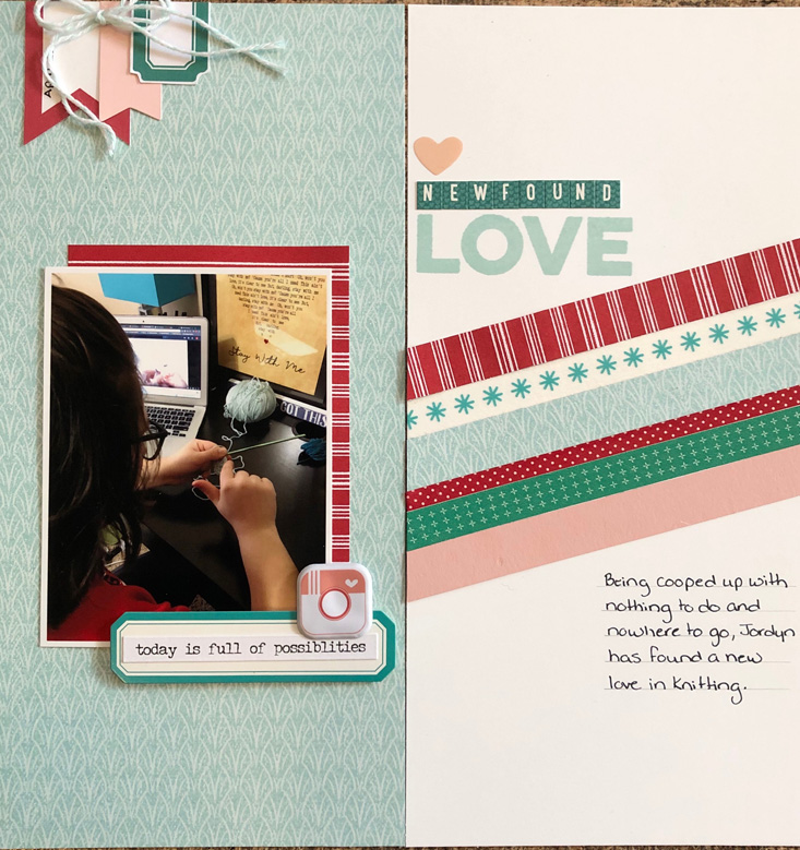 #52favorites travellers notebook layout