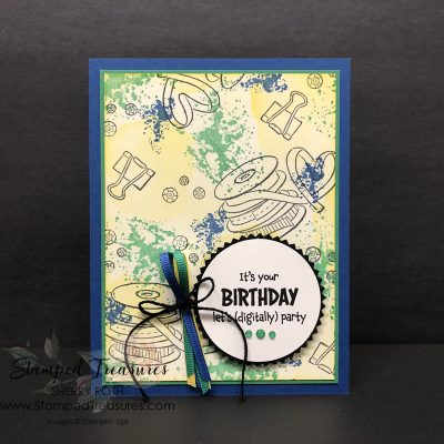 Collage Stamping and the Share Sunshine Digital Download