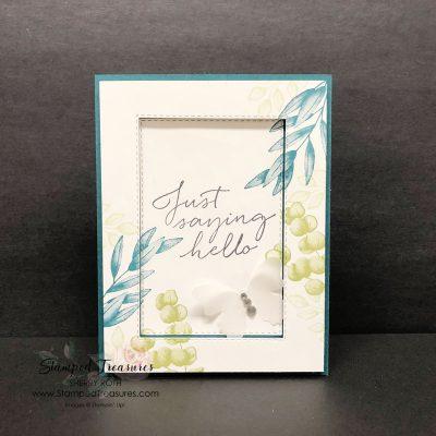Forever Fern Frame Card