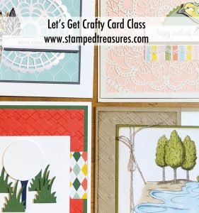 Let's Get Crafty Card Class