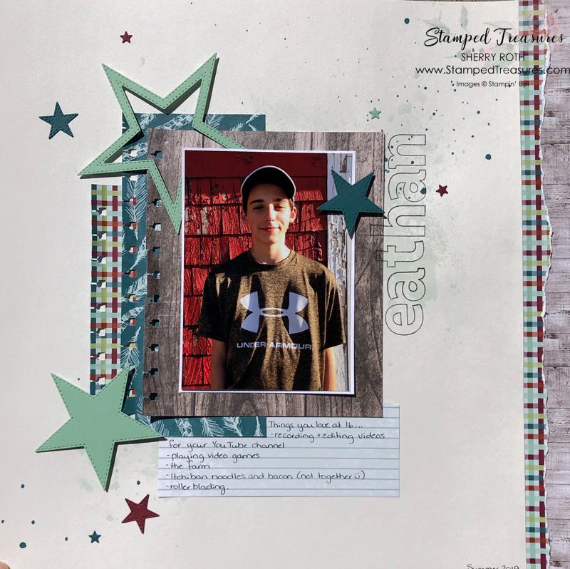 Teenage Boy Layout