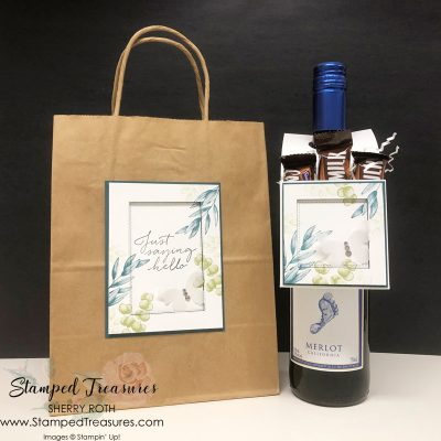 Wine Ninja Packaging Stampin' Up! Style