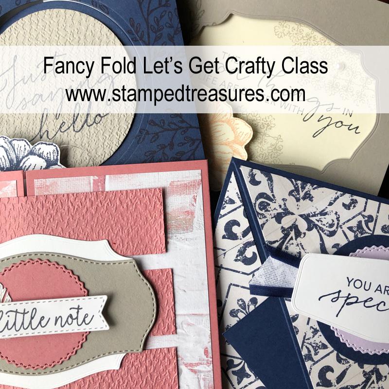 Fancy Folds Card Class