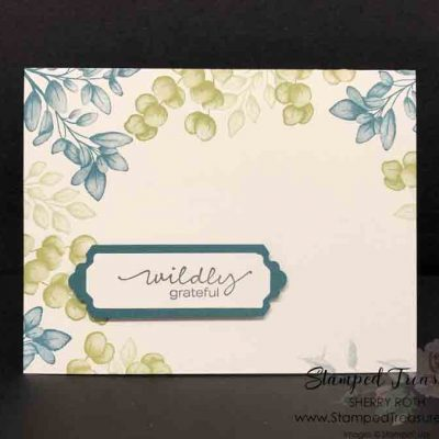 Simple Forever Fern Card