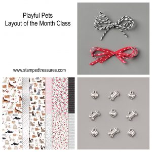 Playful Pets Layout of the Month Class