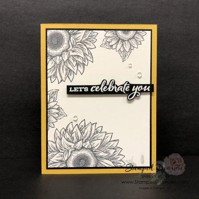 Simple Celebrate Sunflowers