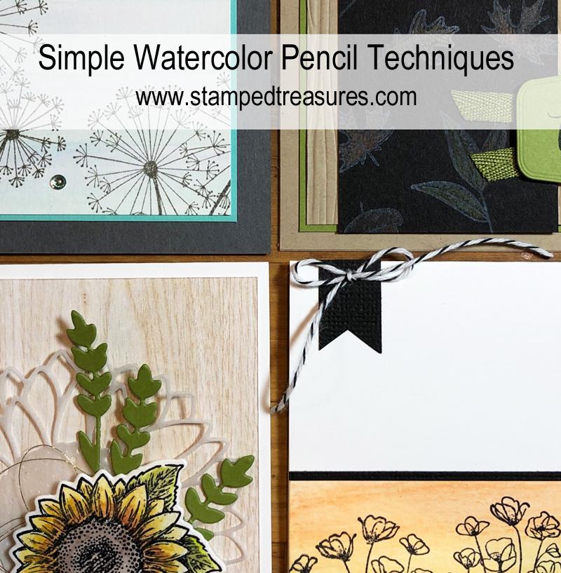 Simple Watercolor Pencil Techniques