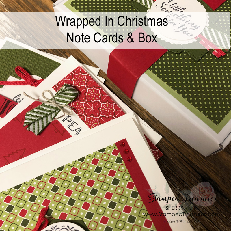 Wrapped in Christmas Note Cards & Box