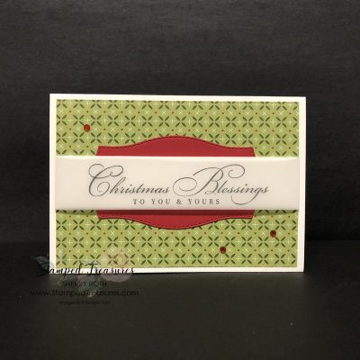 Quick & Easy Christmas Card Tutorial