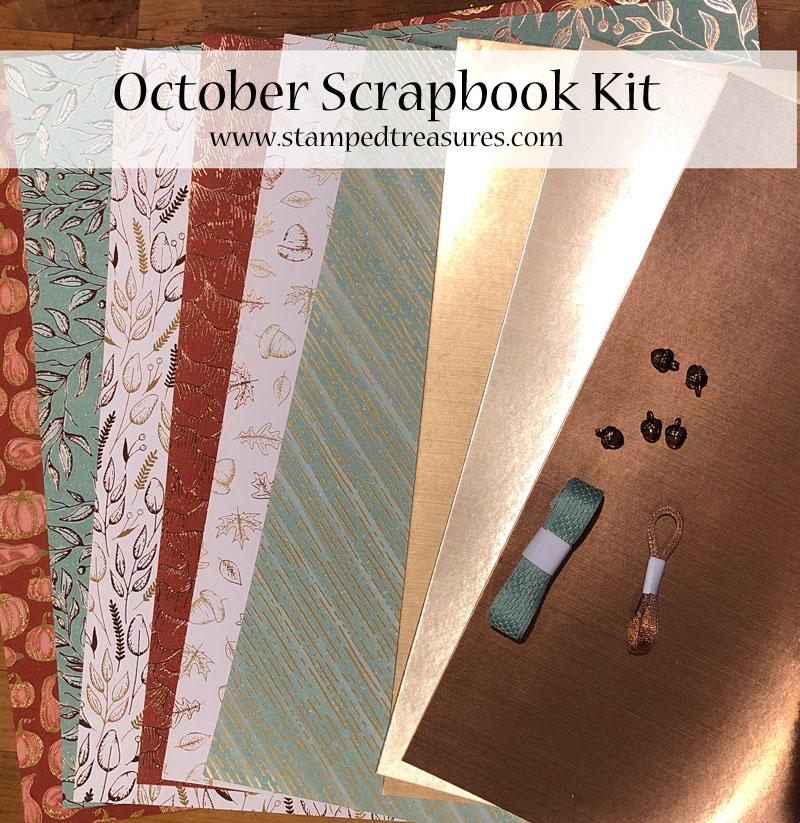 October Scrapbook Kit & Class
