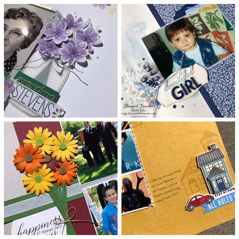 Scrapbooking with Stamps