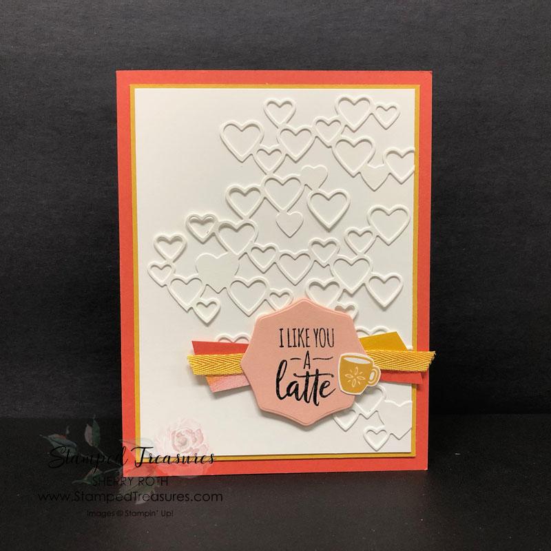 Warm Hugs I Like You a Latte Card