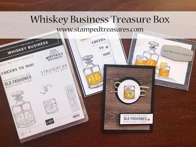 Whiskey Business Treasure Box