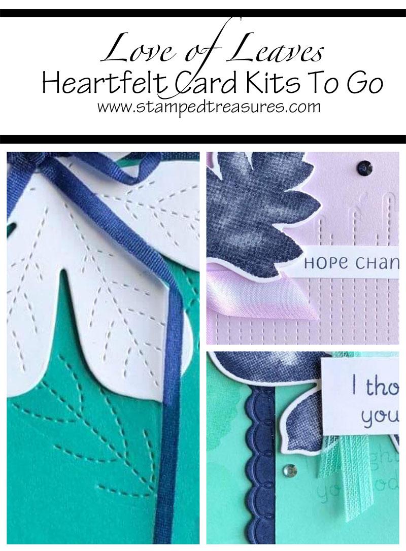 Love of Leaves Heartfelt Card Kits To Go