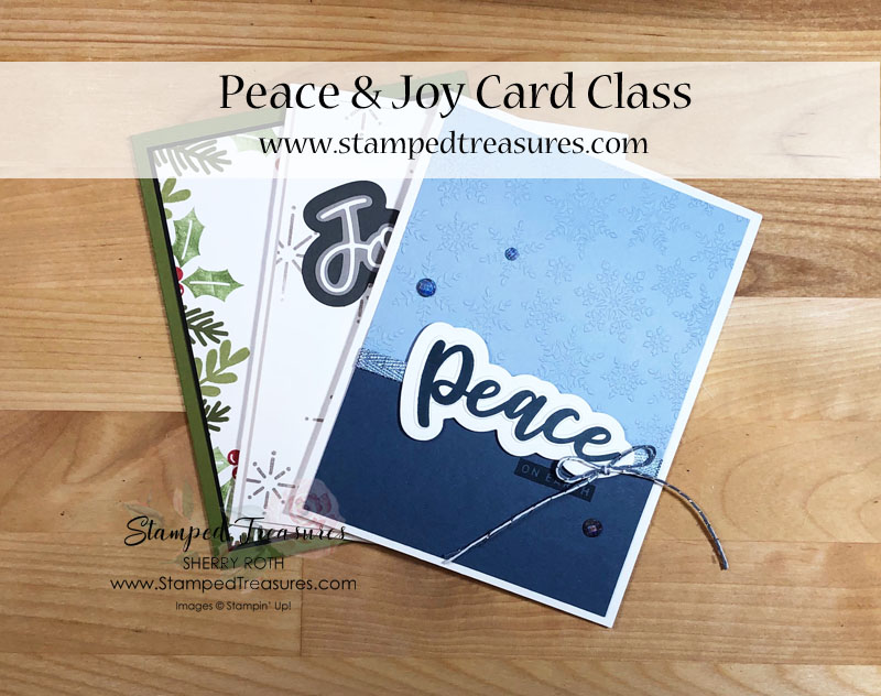 Peace & Joy Card Class