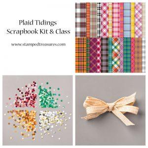 Plaid Tidings Scrapbook Kit & Class