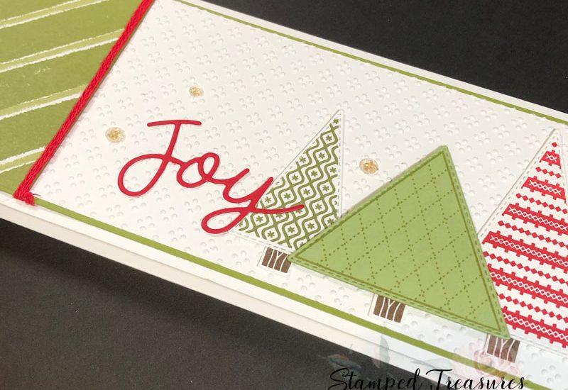 Slimline Gift Card Holder