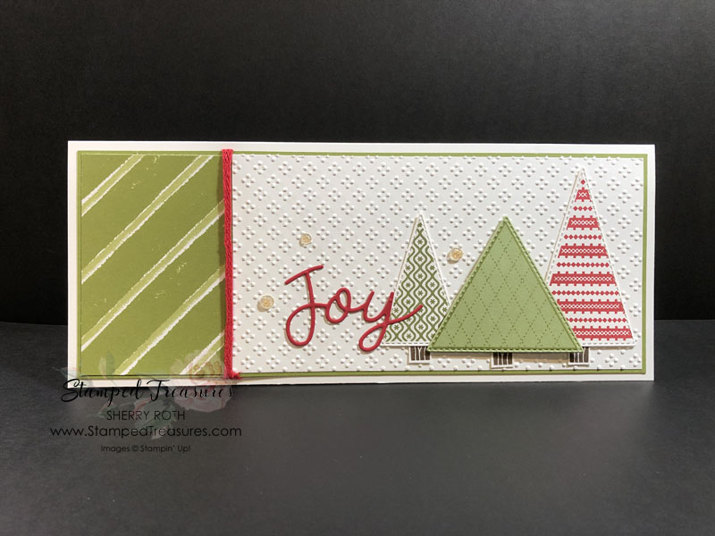 Slimline Gift Card Holder