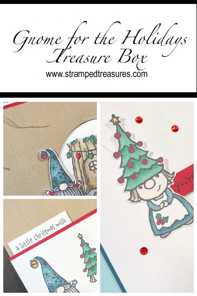 Gnome for the Holidays Treasure Box