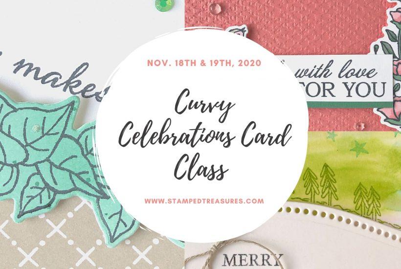 Curvy Celebrations Card Class