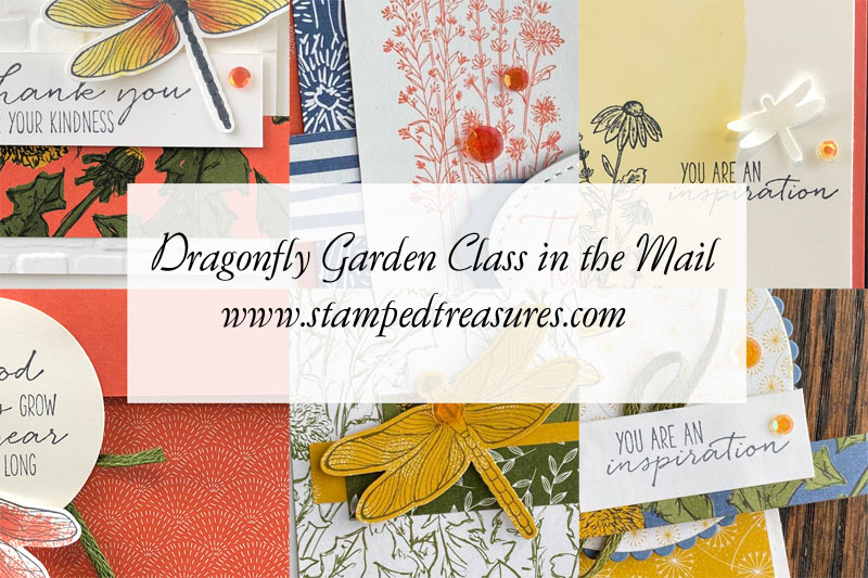 Dragonfly Garden Class in the Mail