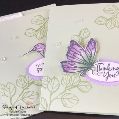A Touch of Ink – Simple & Stepped Up