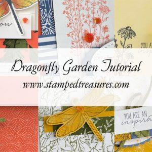 Dragonfly Garden Card Tutorial