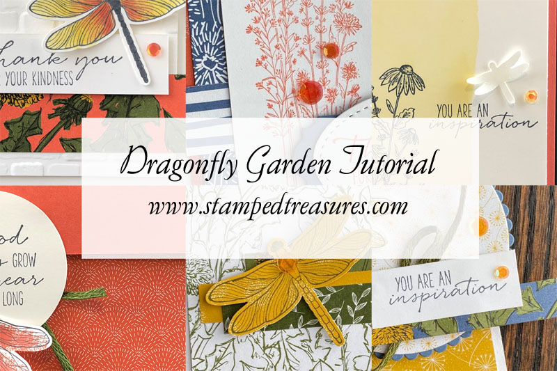 Dragonfly Garden Card Tutorial