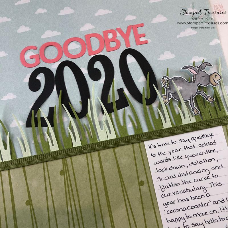 Goodbye 2020 Layout