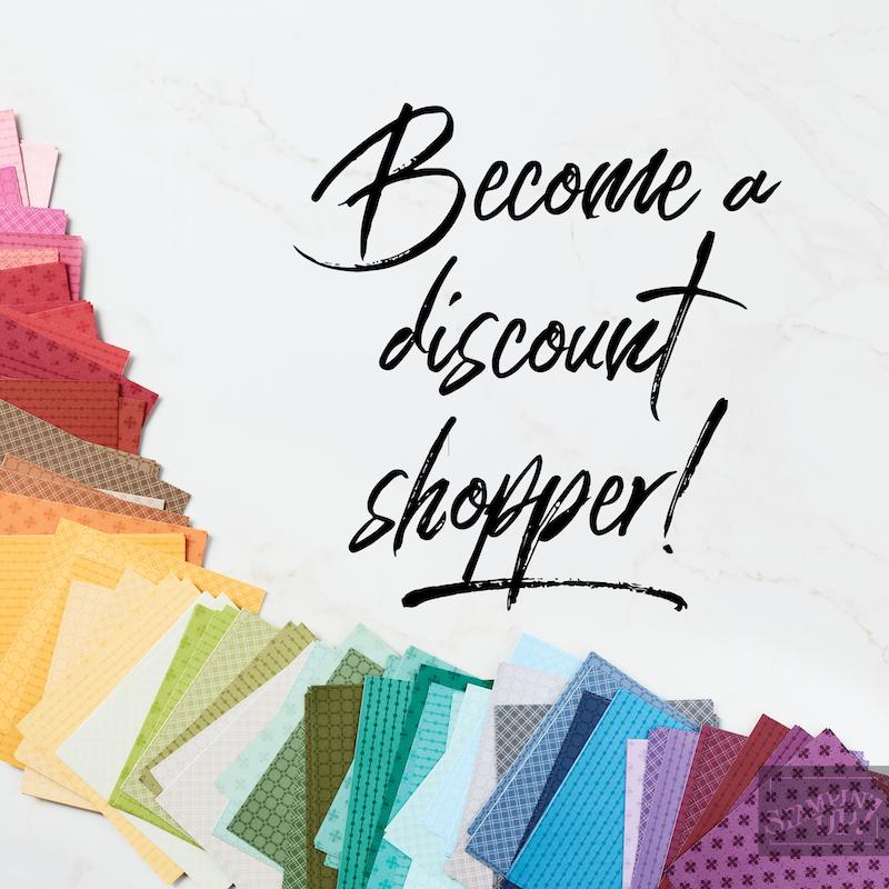 Become a Discount Shopper