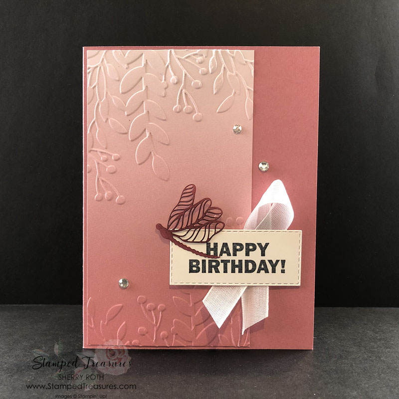 Oh So Ombre Birthday Card