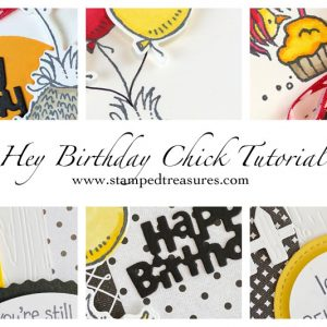 Hey Birthday Chick Tutorial