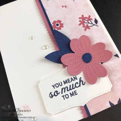 Simple In Bloom Handmade Card