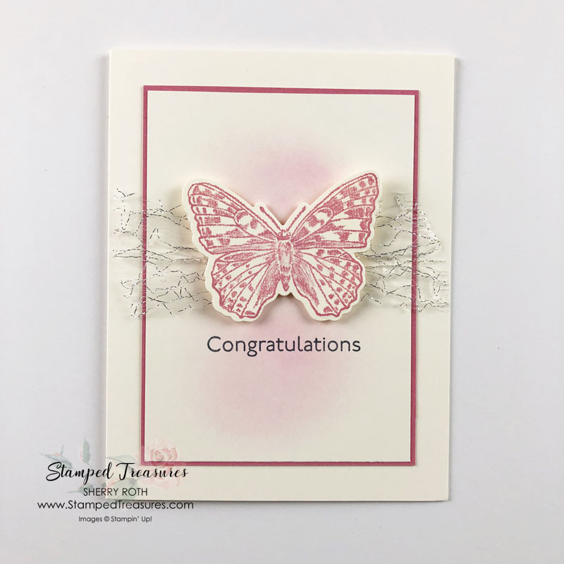 Simple Butterfly Brilliance Card