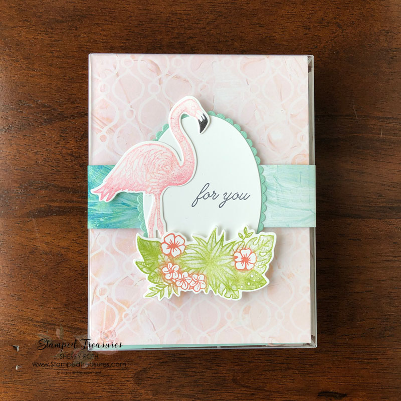 Friendly Flamingo Acetate Box