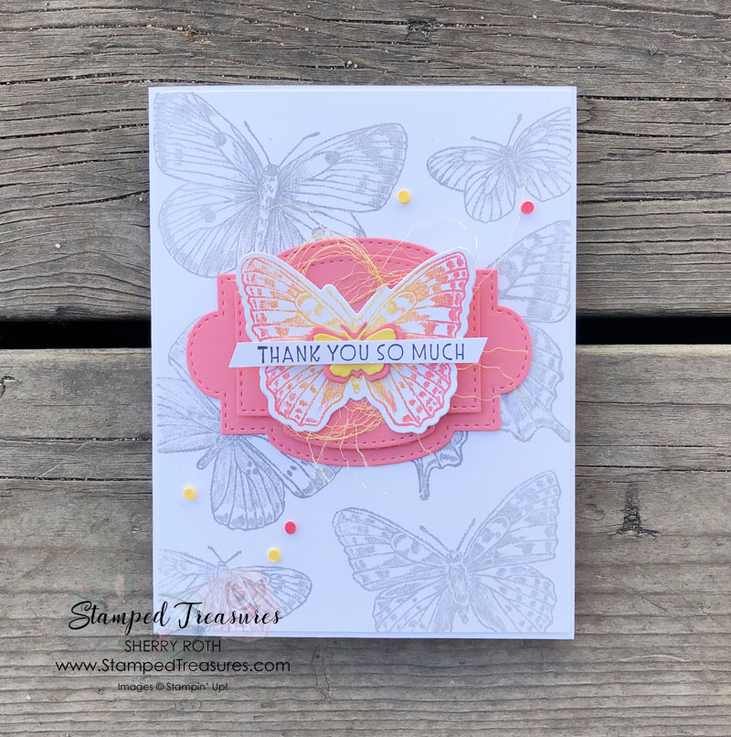 Butterfly Brilliance Thank You Card