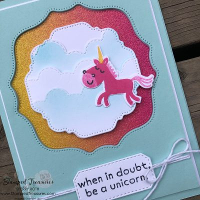 When in Doubt Be a Unicorn Card