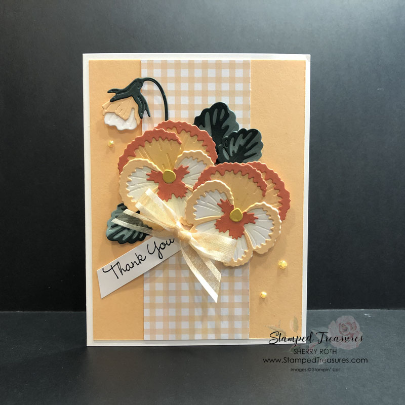 Stampin' Up!'s Pansy Patch - 1 Card, 3 Ways
