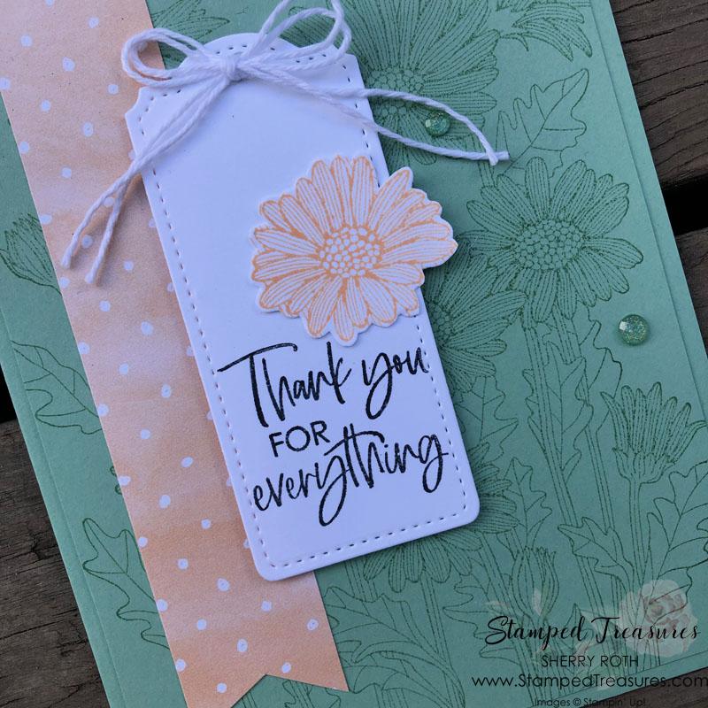 Daisy Garden Thank You Card