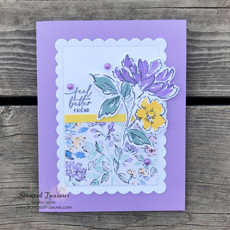 Hand-Penned Get Well Card