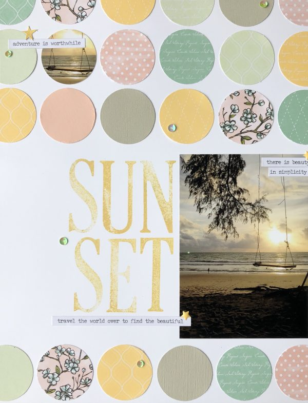 Scrapbooking with Circles