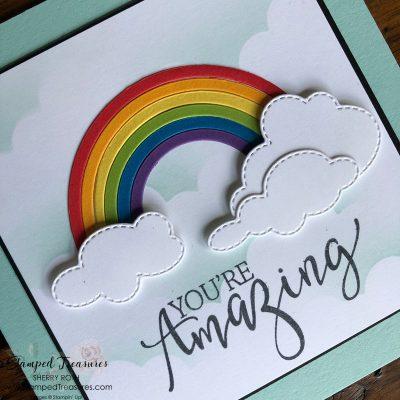 Create with Friends Rainbow Card