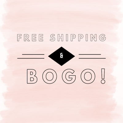 Free Shipping & BOGO Event