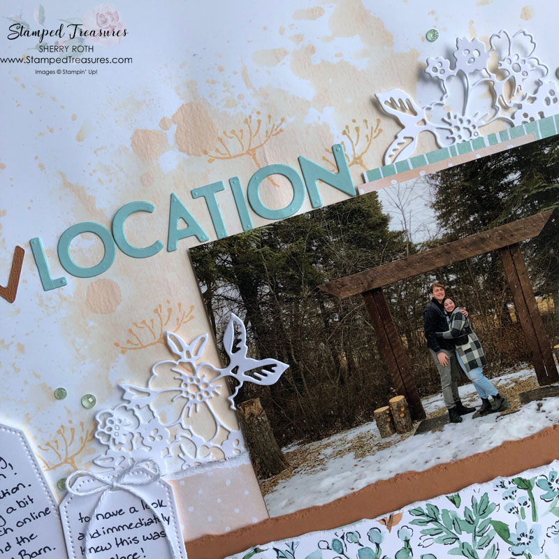 Hand-Penned Scrapbook Layout